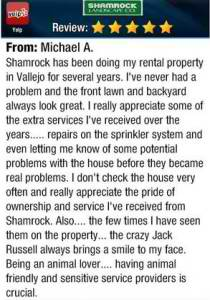testimonial from Michael A